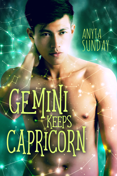 Gay Romance Novel Gemini Keeps Capricorn by Anyta Sunday
