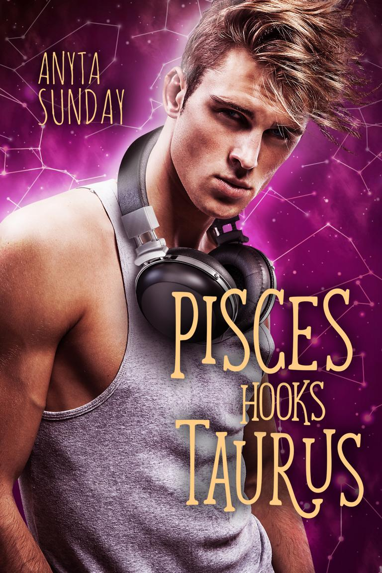 Gay Romance Novel Pisces Hooks Taurus by Anyta Sunday
