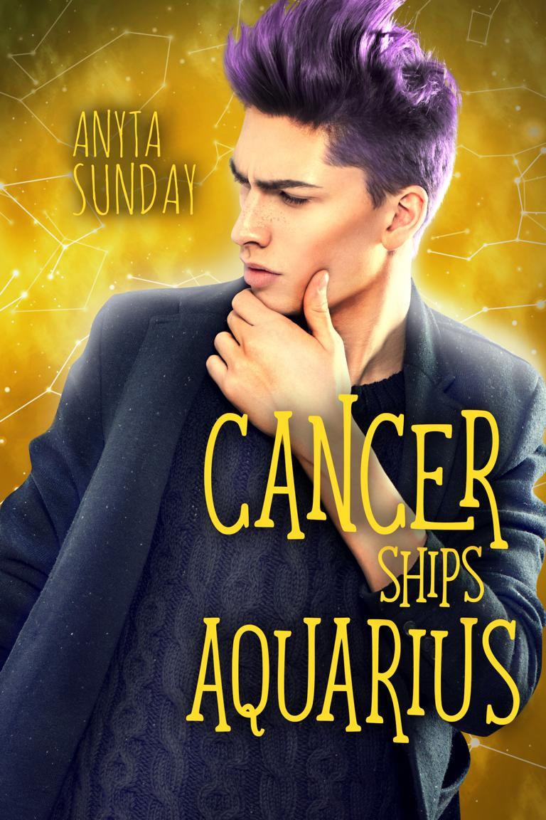 Gay Romance Novel Cancer Ships Aquarius by Anyta Sunday