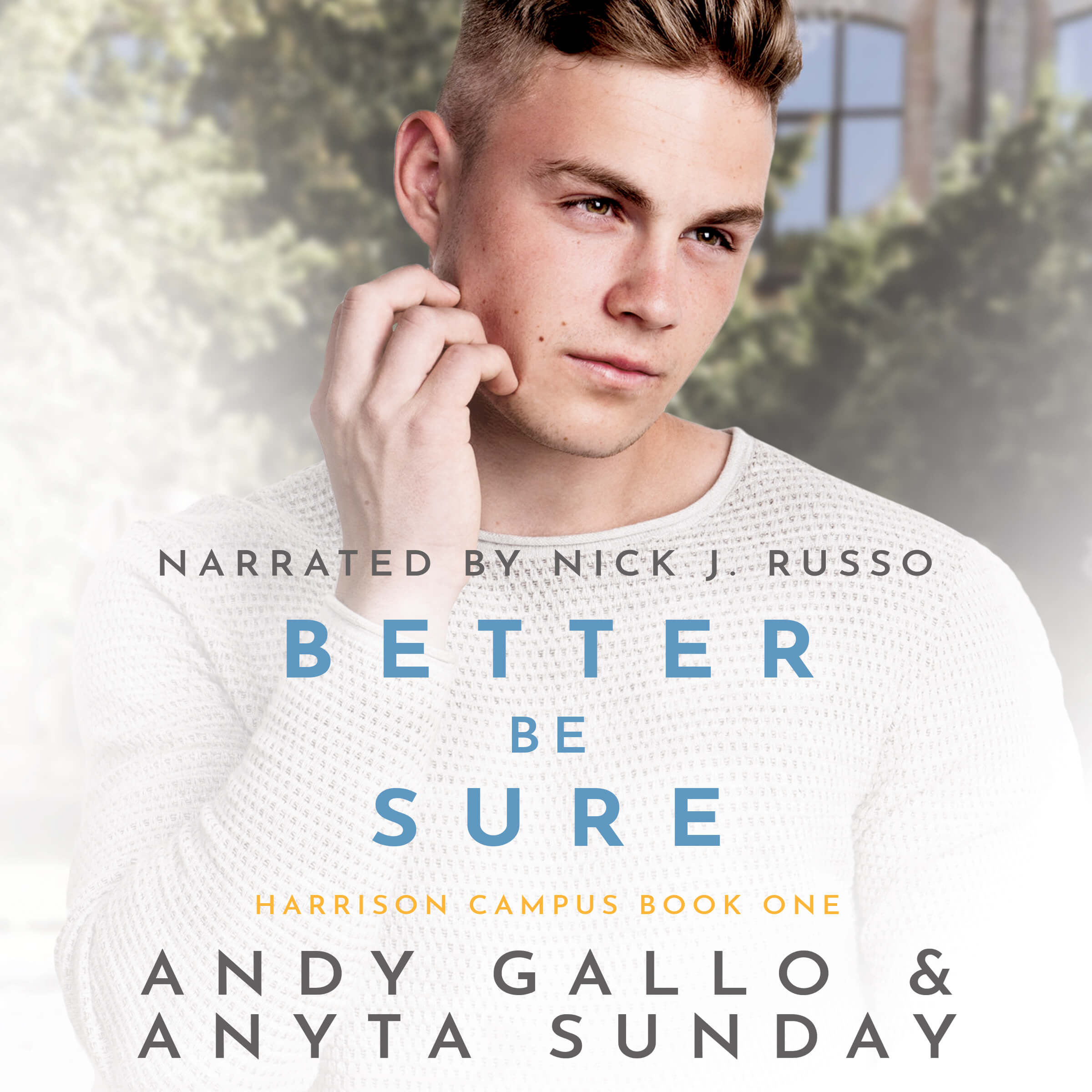 Audiobook of Gay Romance Novel Better be Sure by Anyta Sunday and Andy Gallo