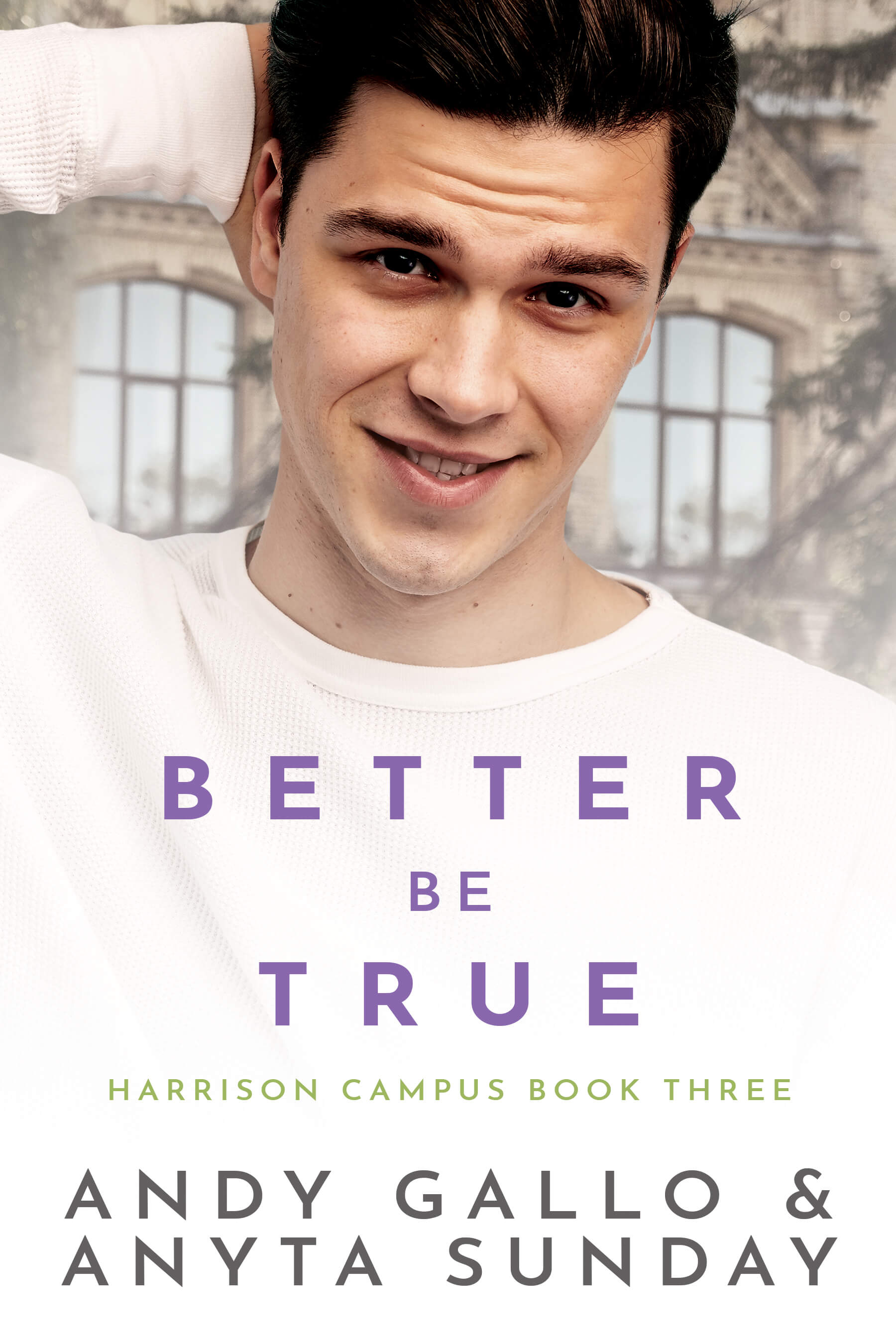 Gay Romance Novel Better be True by Anyta Sunday and Andy Gallo