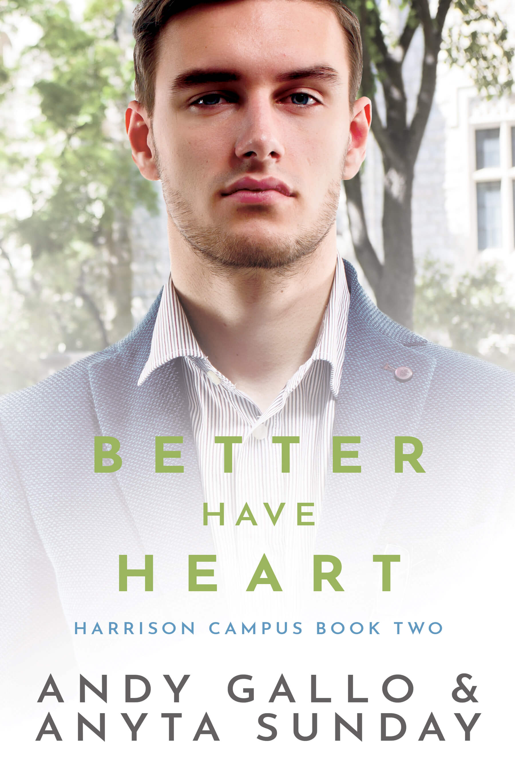 Gay Romance Novel Better have Heart by Anyta Sunday and Andy Gallo