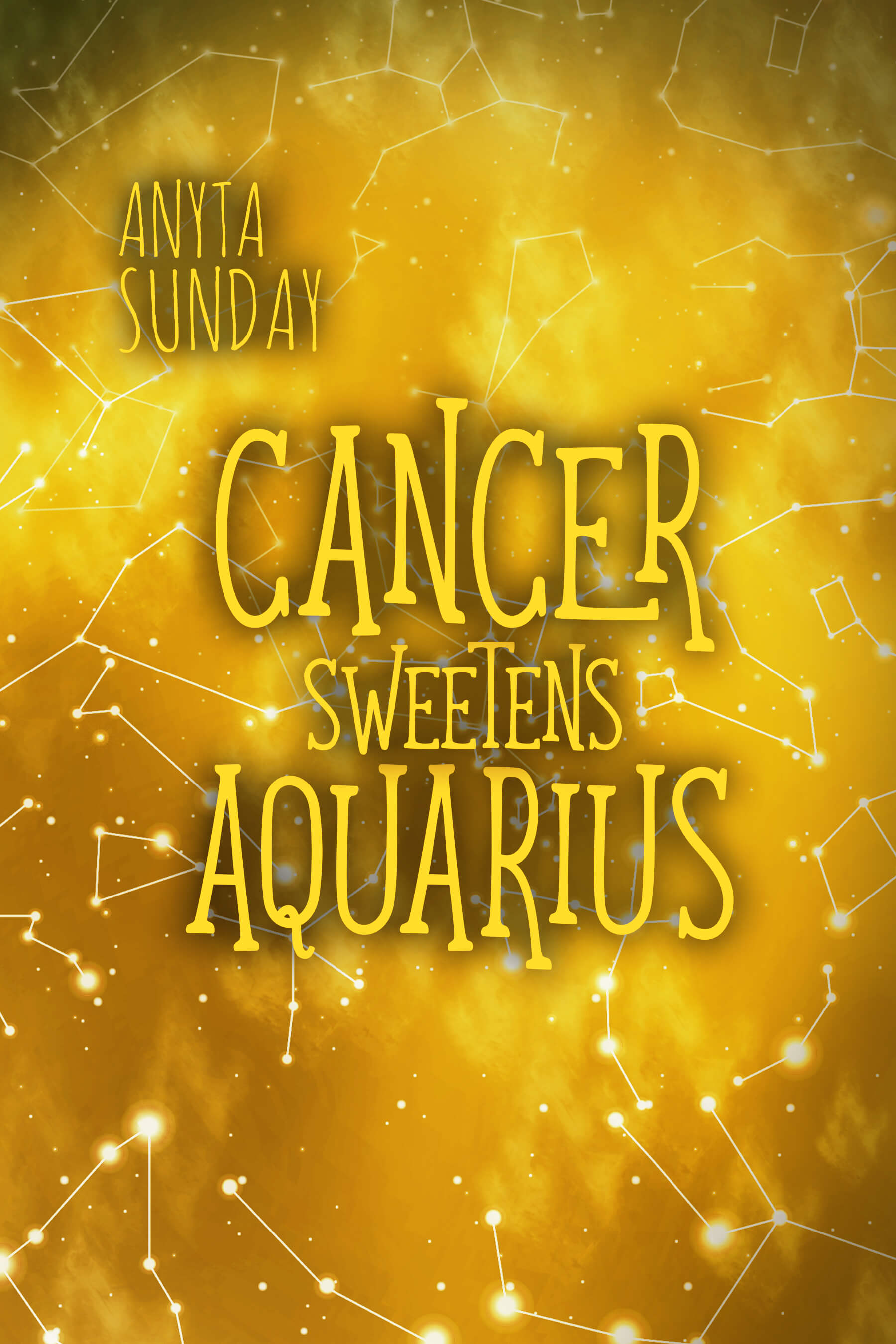 Shortstory Cancer Sweetens Aquarius by gay romance writer Anyta Sunday
