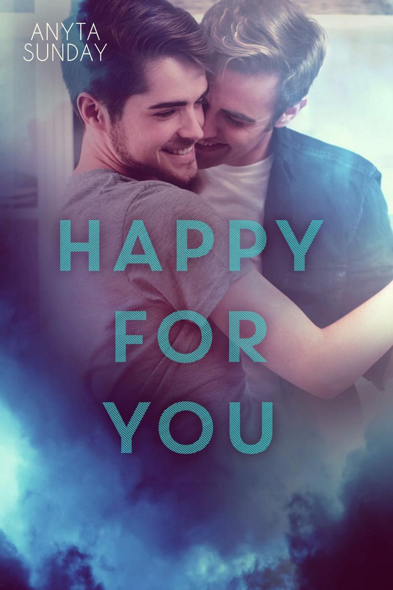 Gay Romance NovelHappy for You by Anyta Sunday