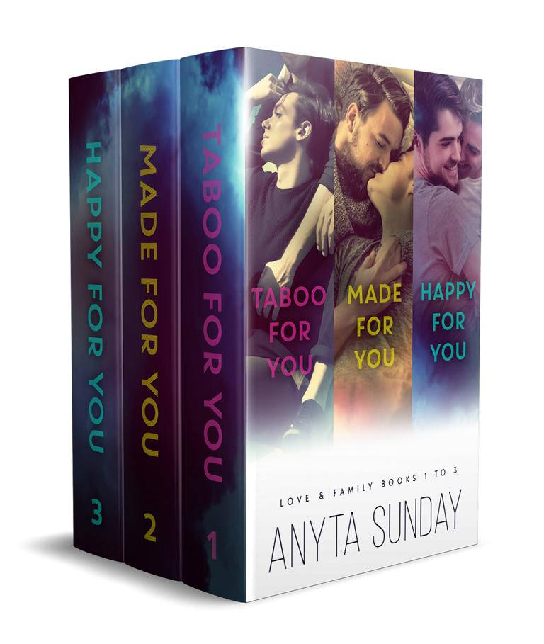 Gay Romance Novel Box Set Love and Family by Anyta Sunday