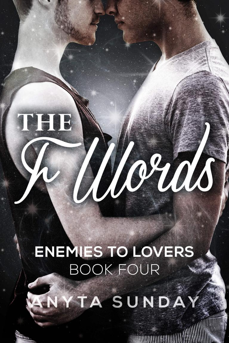 Gay Romance Novel the F Words by Anyta Sunday