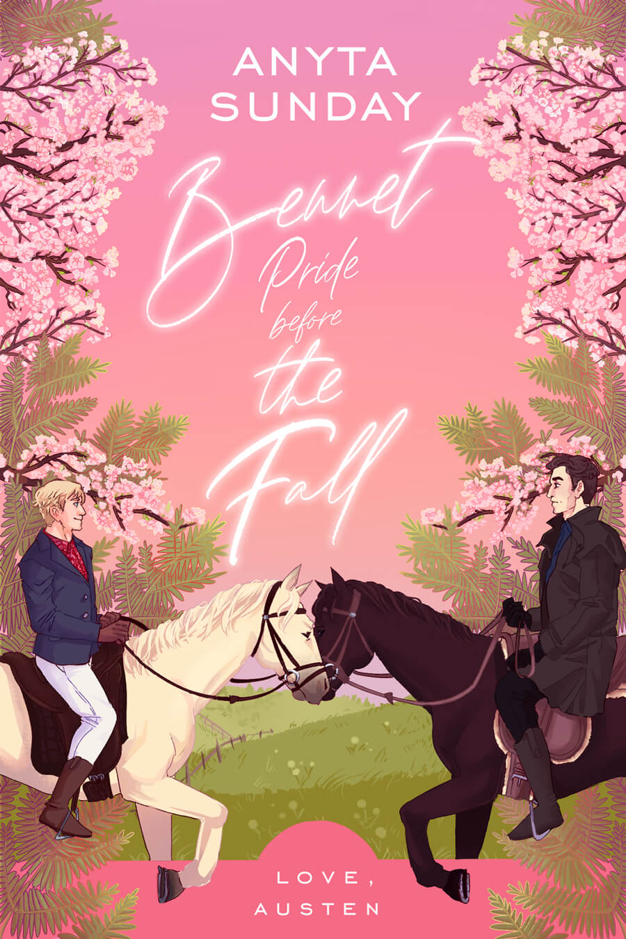 Gay Romance Novel Jane Austen retelling Bennet Pride Before The Fall by Anyta Sunday